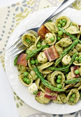 Pesto pasta salad 2